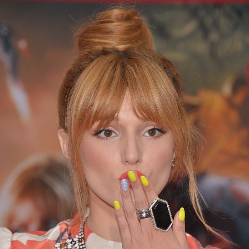 Celebrity Nail Art & Manicures Bella Thorne, Olivia Palermo