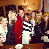 Derek Blasberg was joined by a stylish group of celebrity friends while celebrating his birthday — the party included guests Kirsten Dunst, Kelly Sawyer, Nicole Richie, Jessica Alba, and Rachel Zoe. Source: Instagram user nicolerichie