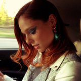 Coco Rocha wore her favorite Dannijo earrings on the way to dinner. Source: Instagram user cocorocha