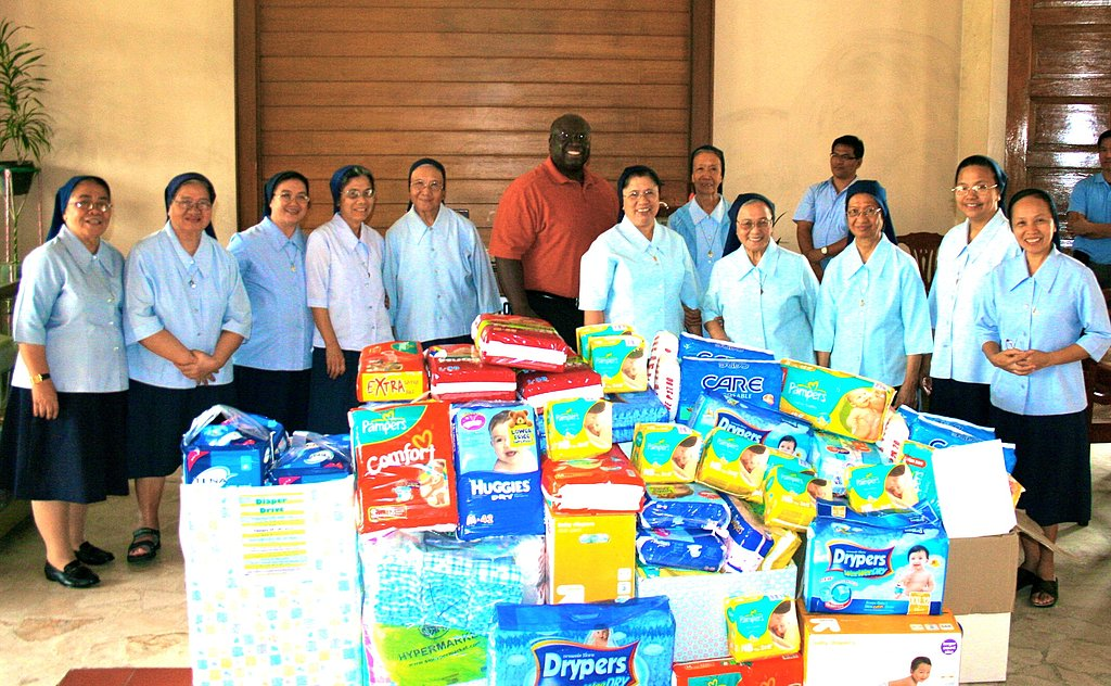 Give to a Diaper Drive