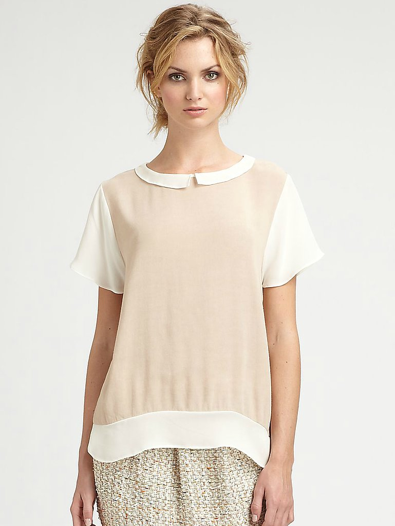 This By Malene Birger Silk Blouse (£249.21) perfectly captures that casual but still feminine feel of the '20s.