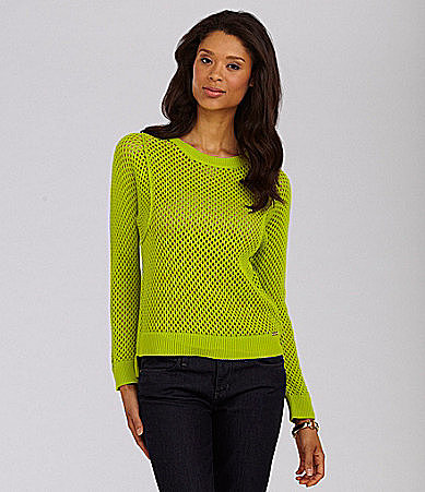 MICHAEL Michael Kors Mesh Sweater