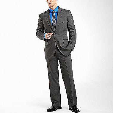 JF J. Ferrar® Gray Stripe Suit Separates