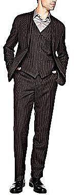 Stafford® Signature Chalk Stripe Suit Separates
