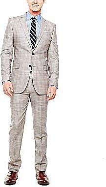 Stafford® Glen Plaid Wool Suit Separates