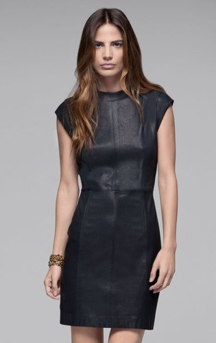 Orinthia L Leather Dress