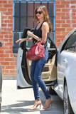 Miranda Kerr was looking stylish as ever when she exited a car in Hollywood on April 25.