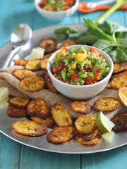 Plantain Chips &amp; Salsa
