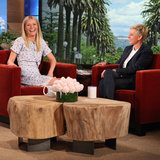Gwyneth Paltrow Interview Ellen April 2013 | Video