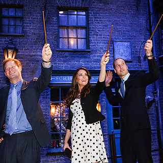 William and Kate at Harry Potter Studio