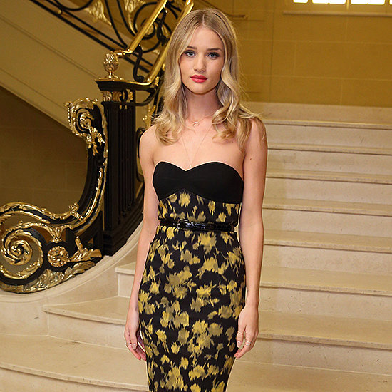 Vogue's Michael Kors Dinner, Rosie Huntington-Whiteley Style