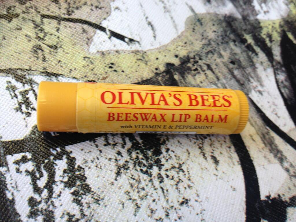 Olivia Wilde shared her customized lip balm cover. Source: Twitter user oliviawilde