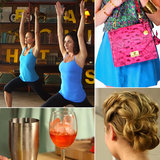 Bright Spring Leather and Yoga With Jennifer Aniston's Trainer: The Best of POPSUGARTV This Week