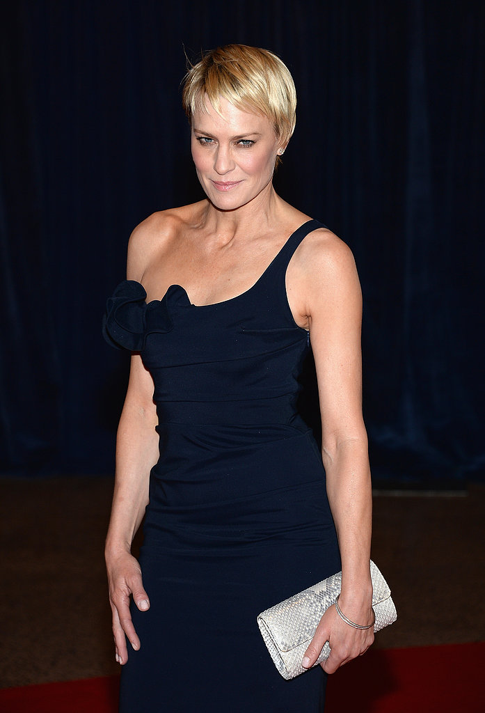 Robin Wright attended the White House Correspondents' Dinner.