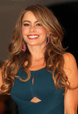 Sofía Vergara posed on the red carpet.