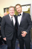 Gerard Butler and Piers Morgan enjoyed the night.