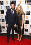 Josh Radnor and Beth Behr turned out for Creative Coalition's Distinguished Women in Media event.