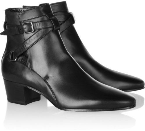 Saint Laurent Leather ankle boots