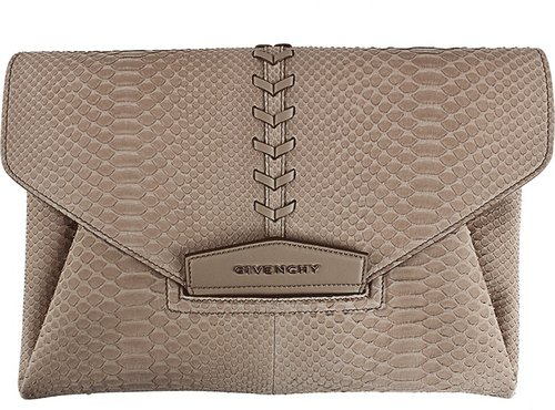 Givenchy Antigona Python Clutch
