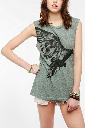 Truly Madly Deeply Blackbird Muscle Tee