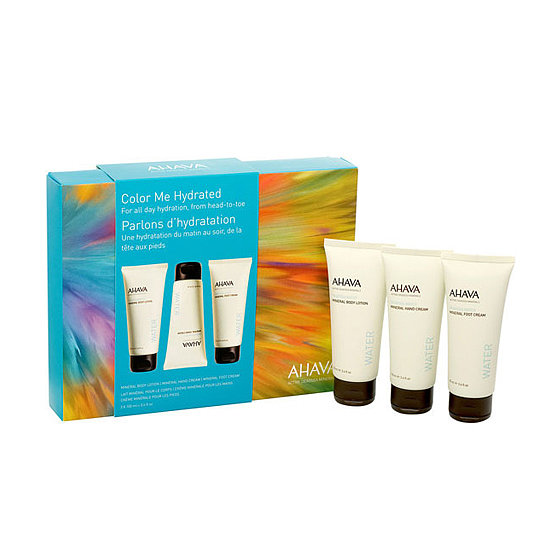 For a mother who is constantly toiling with her hands or is on her feet day after day, gift her Ahava's Color Me Hydrated ($27) set, which contains mini bottles of the brand's ultrahydrating lotions.
