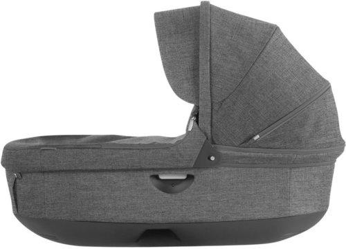 Stokke Crusi Carry Cot - Black Melange