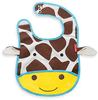 SKIP*HOP® Zoo Tuck-Away Bibs - Giraffe