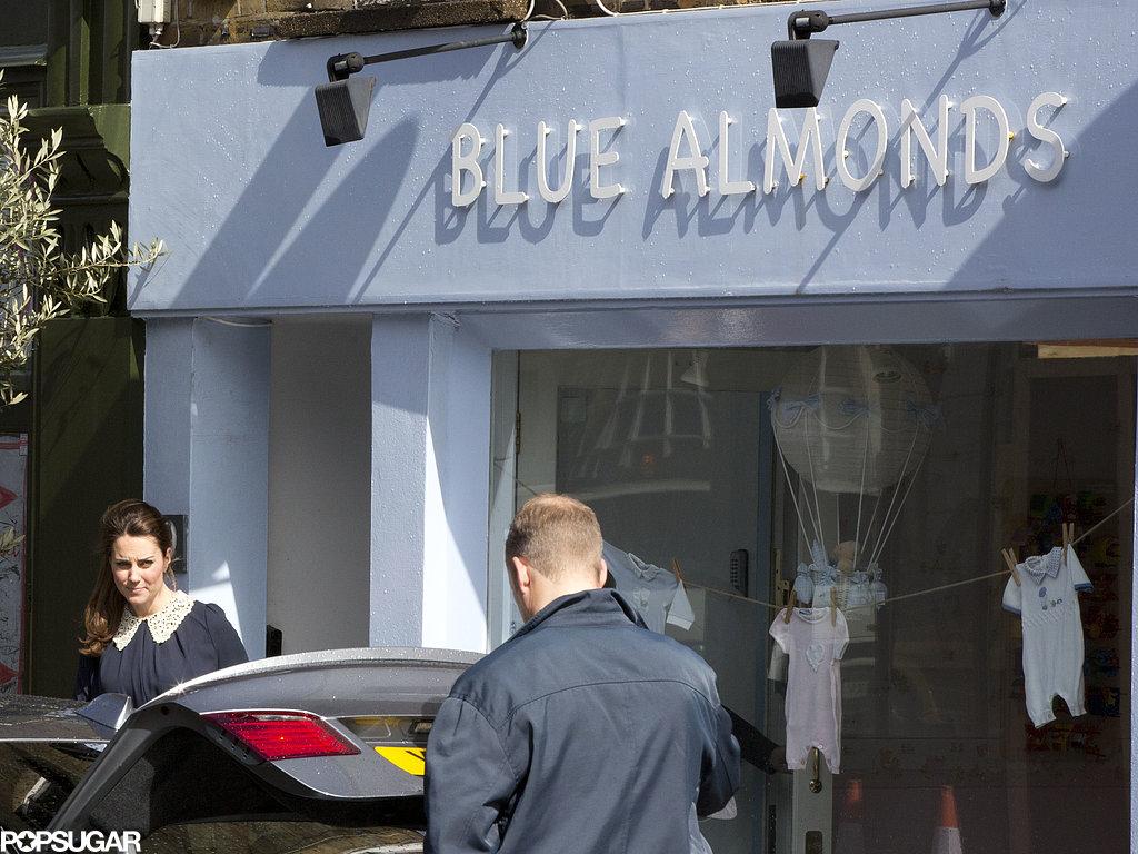 Kate Middleton shopped at Blue Almonds.
