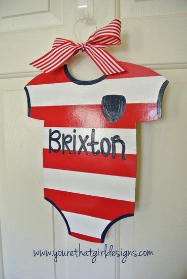 Personalized Onesie Name Sign