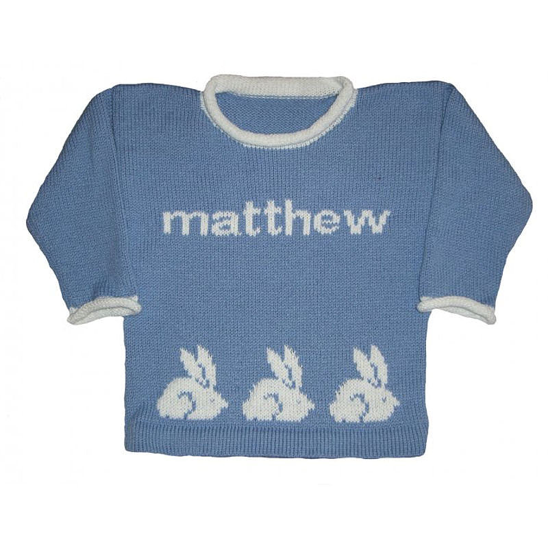 Personalized Knit Sweater