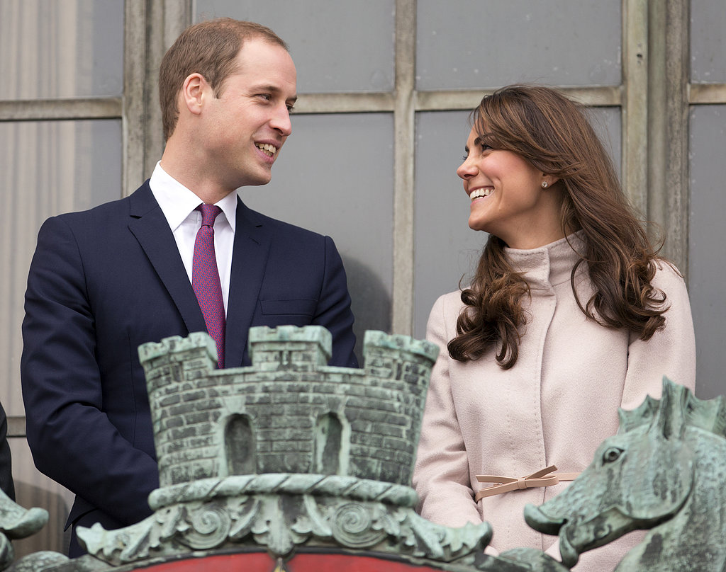 They smiled at each other on the balcony of Guildhall in Cambridge. His suit and her bow-tie coat were perfectly in sync with the formal festivities.