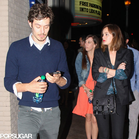 Leighton Meester and Adam Brody hung out in LA.