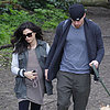 Channing Tatum and Pregnant Jenna Dewan Walk Their Dogs