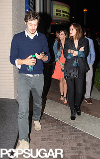 Leighton Meester and Adam Brody on a Movie Date