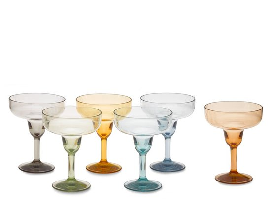 Duraclear Margarita Glasses
