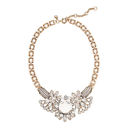 J.Crew Crystal Compilation Necklace