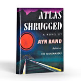 Snag the first edition illustration of the book for your favorite gadget with this Atlas Shrugged iPad case ($50).