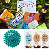 Give Healthy Welcome Baskets