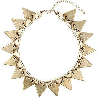 Stud and spike necklace