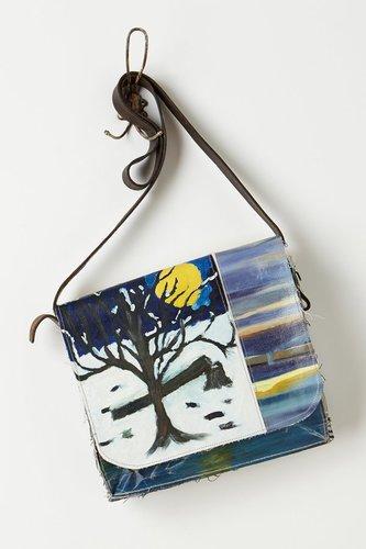Composition Messenger Bag, Night Snow