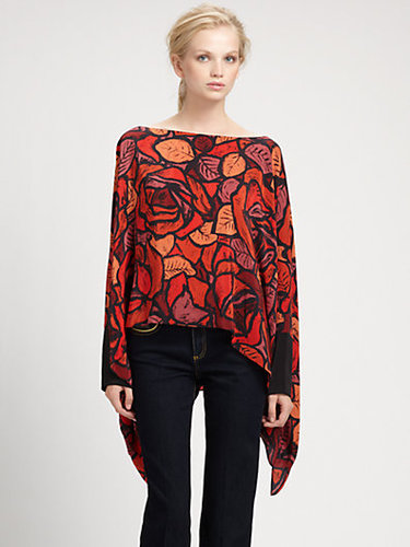 Rachel Zoe Silk Sabrina Top