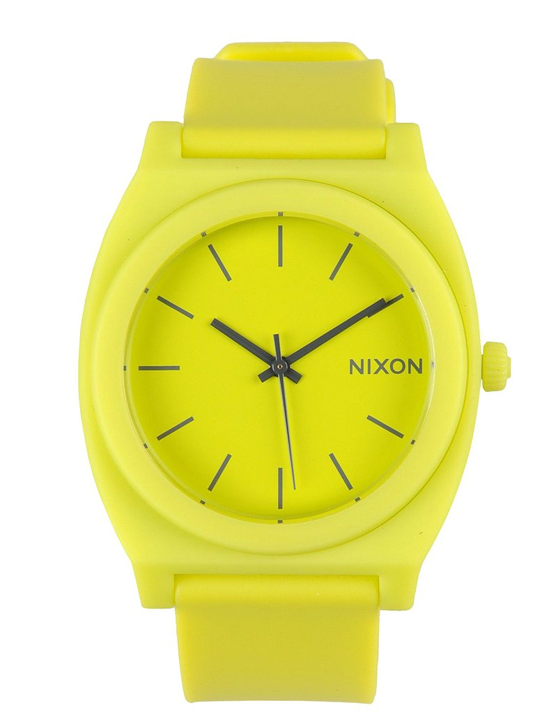 For some it's sunglasses, others a covetable bag, but for me, my outfits aren't complete without a statement-making watch. When I spotted this neon creation from Nixon ($119), I knew it had to be added to my watch collection immediately. The brilliant hue, oversize face, and lightweight composition radiates Summer fun. — Mandi Villa