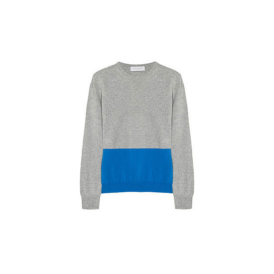 This cashmere sweater is like the ultimate cross between classic and me. I'd team it with black skinny jeans and sneakers on the weekend or a flippy skirt with boots for the office. — Jess, celebrity and entertainment editor Knit, approx $450, Richard Nicoll at Net-a-Porter