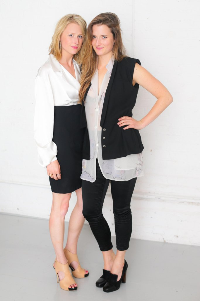 Mamie and Grace Gummer at ASmallWorld's relaunch preview dinner in New York. Source: David X Prutting/BFAnyc.com