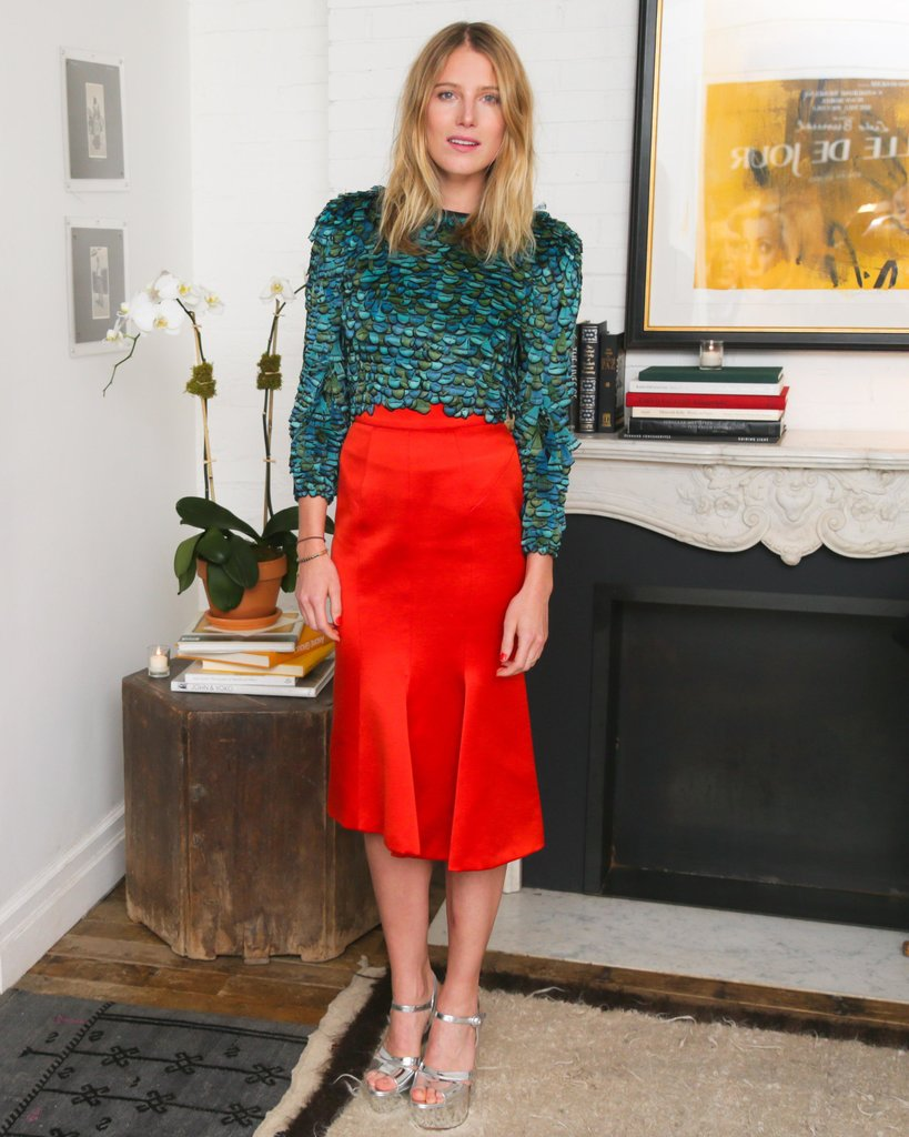 Dree Hemingway at ASmallWorld's relaunch preview dinner in New York. Source: David X Prutting/BFAnyc.com
