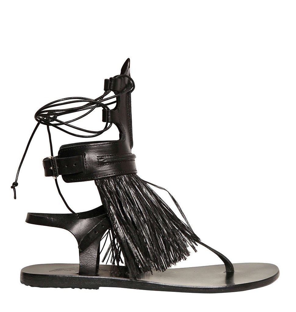 It's easy to justify the price tag of these Ancient Greek Sandals ($390) when you focus in on the details. Between the raffia fringing, the leather laces, and the cool buckle closure, I foresee that these sandals will be my go-to for both casual days and nights out. — Meg Cuna