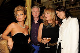 Kate Moss, Philip Treacy, Linda Moss and Bella Freud enjoyed the festivities.