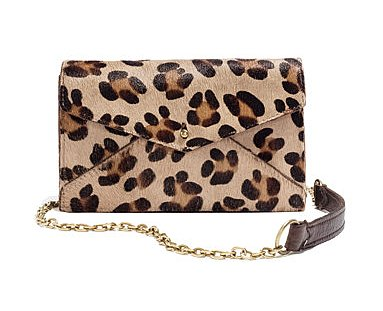 Who can say no to a little leopard bag? If you don't yet have one in your closet, then this Madewell Minibag in Calf Hair ($99, originally $178) is too darling to pass up.
