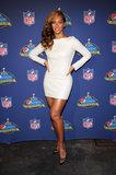 Who can forget the little white Olcay Gulsen dress Beyoncé wore to the Super Bowl halftime show press conference in New Orleans? It fit her like a glove.