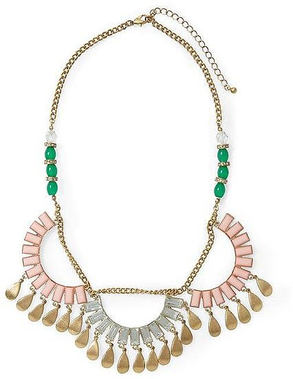 The price is so right on Tinley Road's Scallop Statement Necklace ($34) — pair it with a pretty top if you have the extra cash.